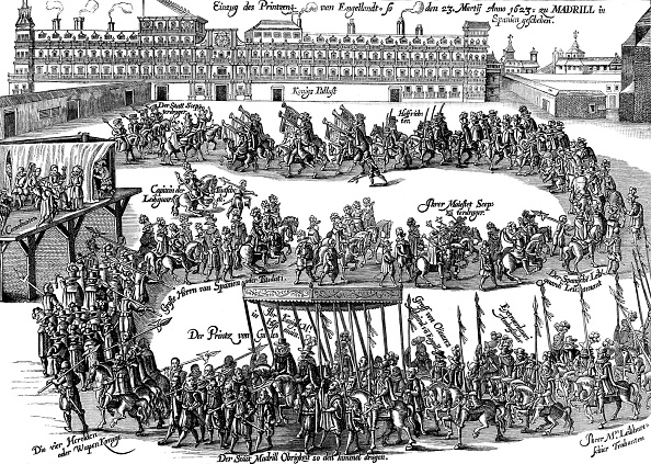 Diplomacy「Entry of Prince Charles into Madrid, 1623」:写真・画像(9)[壁紙.com]
