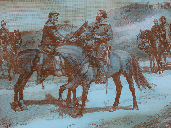 Recreational Horseback Riding「Garibaldi and Victor Emmanuel II of Italy」:写真・画像(4)[壁紙.com]