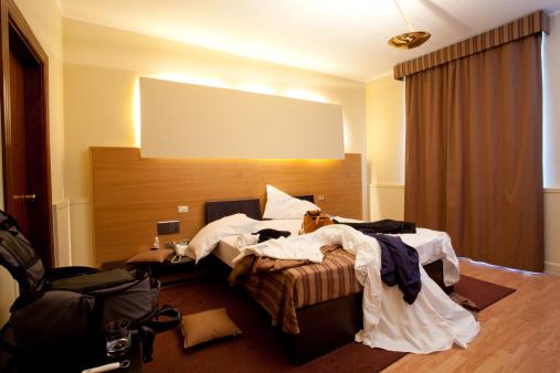 Unhygienic「Messy hotel room」:スマホ壁紙(9)