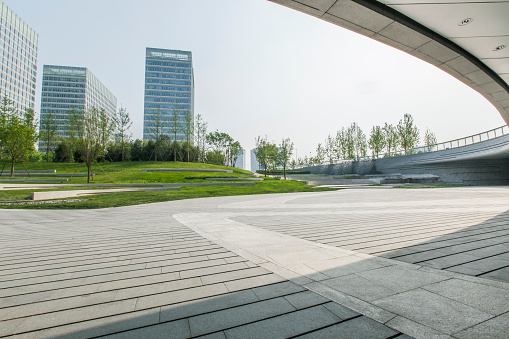 Wide Shot「Wangjing SOHO in Beijing, China」:スマホ壁紙(17)
