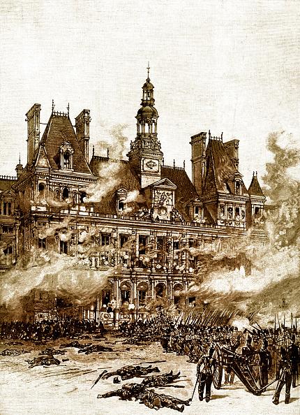 City Life「July Revolution in Paris: Capture of Hôtel de Ville」:写真・画像(0)[壁紙.com]