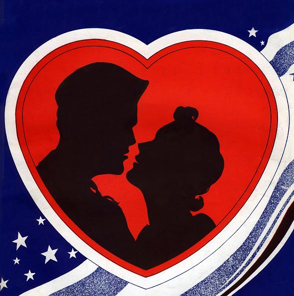 ハート型「Couple About To Kiss」:写真・画像(12)[壁紙.com]