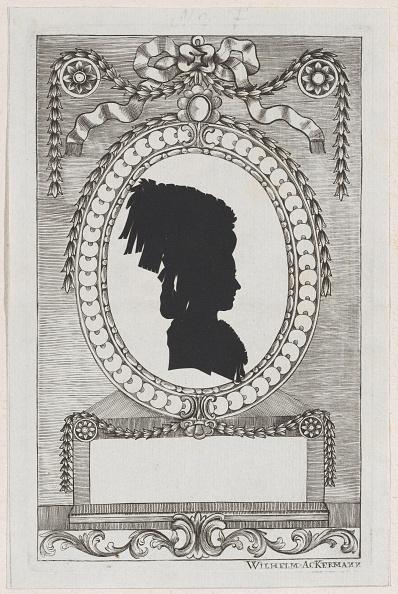 Etching「Silhouette Of Gräfin Ferrari」:写真・画像(11)[壁紙.com]