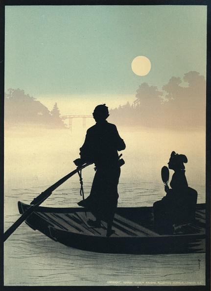 シルエット「Silhouette Fast Process Inks, 1917」:写真・画像(19)[壁紙.com]