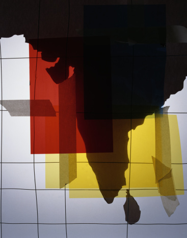 Latitude「Silhouette of India with Colored Film」:スマホ壁紙(0)