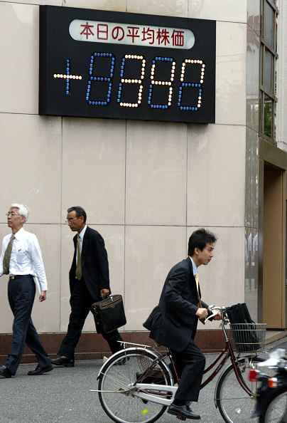 Financial Occupation「Tokyo's stock average」:写真・画像(11)[壁紙.com]