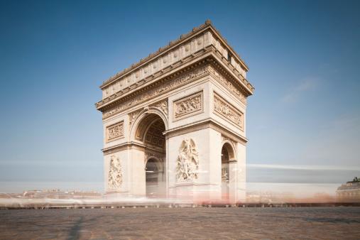 Arc de Triomphe - Paris「Paris, Arc de Triomphe」:スマホ壁紙(4)