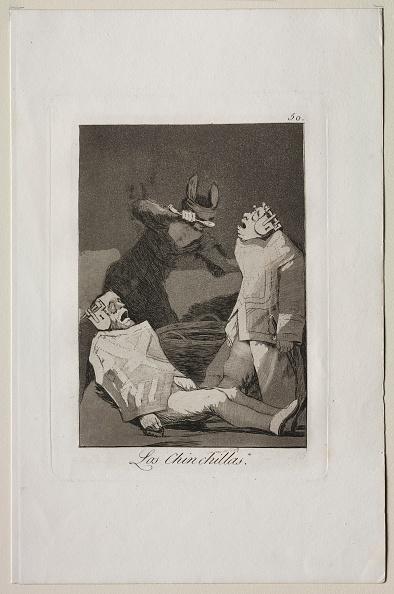 Chinchilla - Rodent「Caprichos: The Chinchillas. Creator: Francisco De Goya (Spanish」:写真・画像(2)[壁紙.com]
