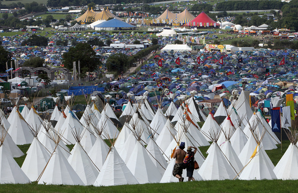 Tent「Fans Begin To Arrive For This Years Glastonbury Festival」:写真・画像(15)[壁紙.com]