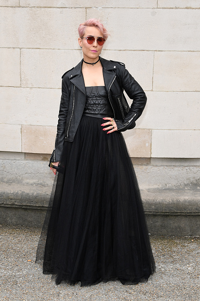 ディオール オム「Dior Homme : Front Row  - Paris Fashion Week - Menswear Spring/Summer 2018」:写真・画像(8)[壁紙.com]