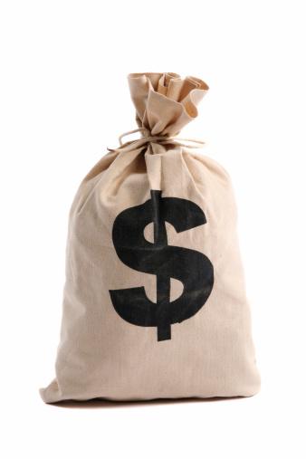 Canvas Fabric「Money Bag」:スマホ壁紙(2)