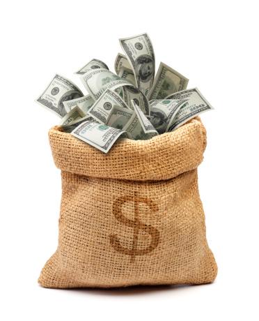 American One Hundred Dollar Bill「money bag」:スマホ壁紙(17)