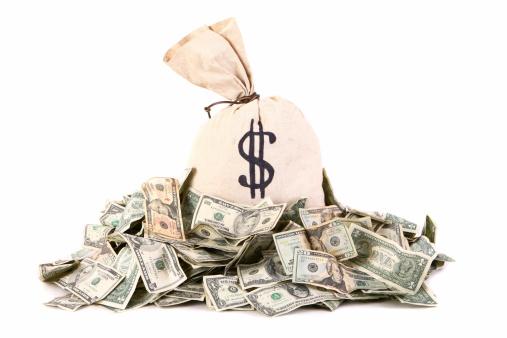 American One Hundred Dollar Bill「Money Bag」:スマホ壁紙(7)