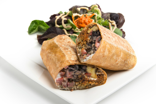 Quinoa「Vegan Mexican Wrap Sandwich」:スマホ壁紙(1)