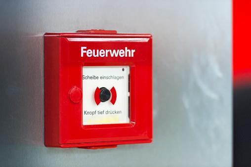 Emergency Services Occupation「Fire alarm at wall」:スマホ壁紙(1)