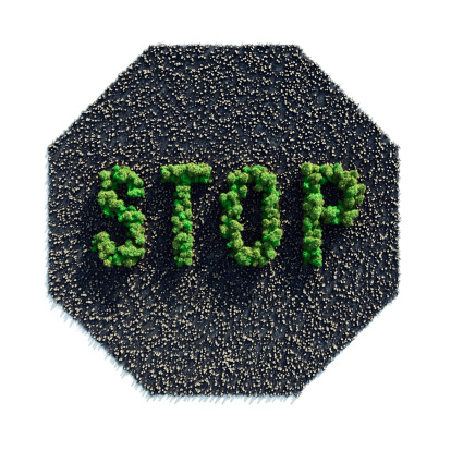 Amazon Rainforest「Stop Deforestation」:スマホ壁紙(1)