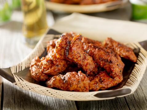 Chicken Wing「BBQ Chicken Wings with a Beer」:スマホ壁紙(14)