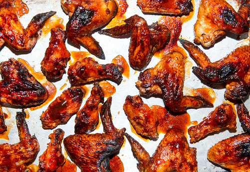 Buffalo Chicken Wings「BBQ chicken wings」:スマホ壁紙(5)