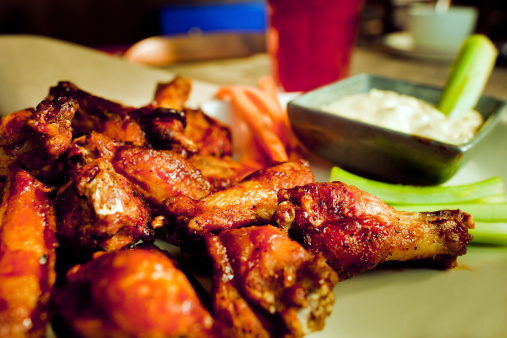 Celery「BBQ Chicken Wings」:スマホ壁紙(5)