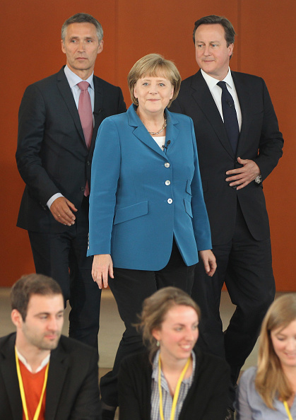 Corporate Business「Cameron, Merkel And Stoltenberg Attend Student Conference」:写真・画像(4)[壁紙.com]