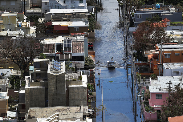 2017 Hurricane Maria「Puerto Rico Faces Extensive Damage After Hurricane Maria」:写真・画像(1)[壁紙.com]