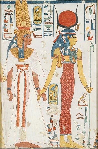Painting - Activity「Copy Of Wall Painting From The Queens Tomb 66 Of Nefertari,」:写真・画像(12)[壁紙.com]
