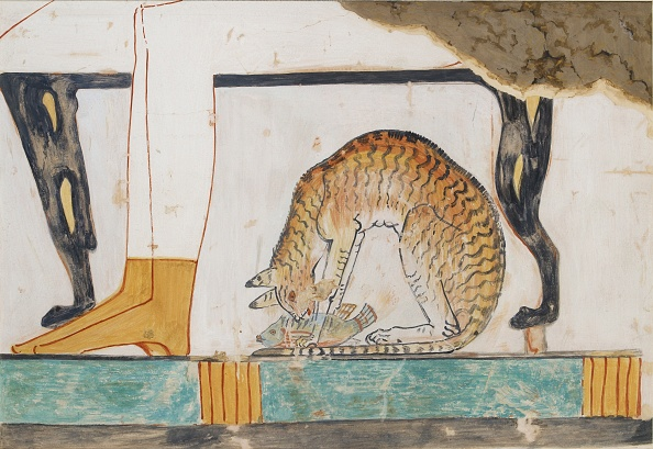 Paint「Copy Of Wall Painting From Private Tomb 52 Of Nakht」:写真・画像(16)[壁紙.com]