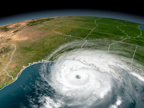 Southern USA「Hurricane Rita threatening the Texas and Louisiana coasts on September 23, 2005.」:スマホ壁紙(9)