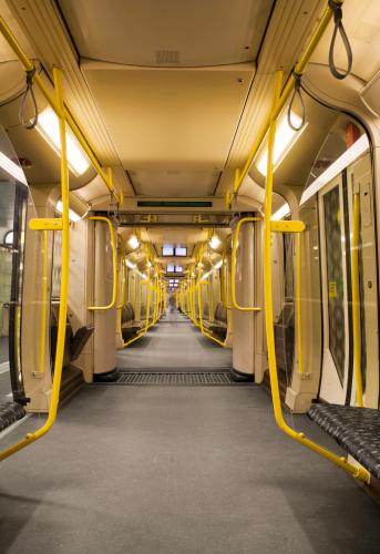 Leaving「Subway interior」:スマホ壁紙(15)