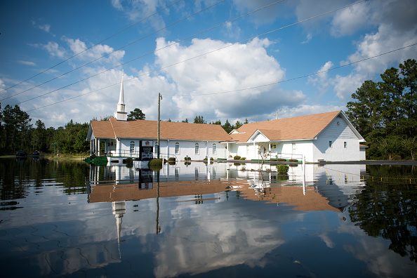 Florence - South Carolina「Flood Waters From Hurricane Florence Begin To Flood Parts Of South Carolina」:写真・画像(13)[壁紙.com]