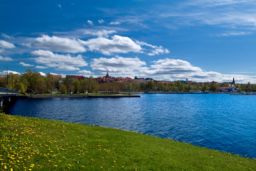 Jamtland「Lake Storsjon and the City of Ostersund in Jamtland, Sweden」:スマホ壁紙(9)