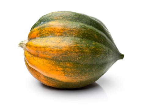 Squash - Vegetable「Acorn Squash Isolated on White」:スマホ壁紙(12)