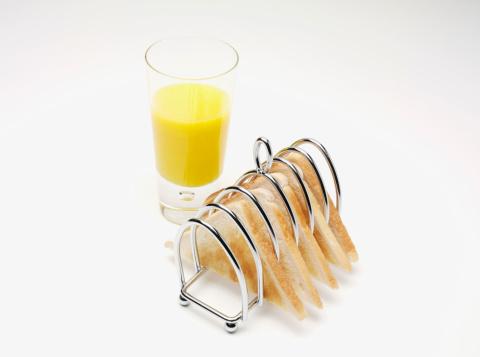 Toasted Food「Toast and orange juice」:スマホ壁紙(7)