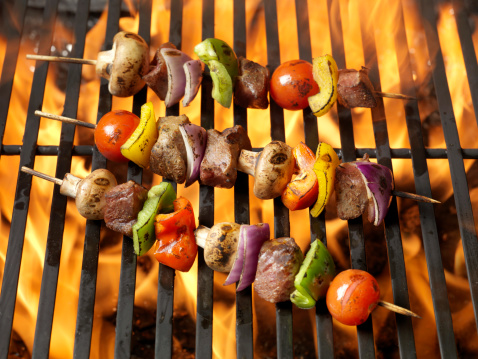 Marinated「BBQ Beef and Vegetable Kabobs」:スマホ壁紙(18)