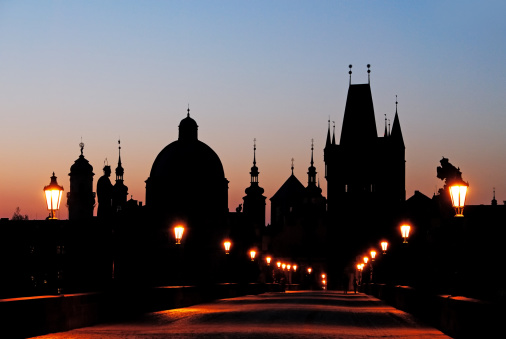 Charles Bridge「Early Morning on Charles Bridge」:スマホ壁紙(4)
