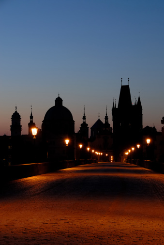 Charles Bridge「Early Morning on Charles Bridge」:スマホ壁紙(5)