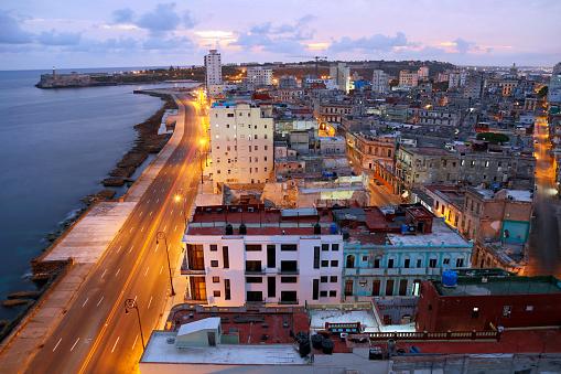 Boulevard「Early Morning Over Havana, Cuba」:スマホ壁紙(13)