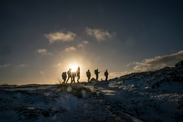 Hiking「Cold Spell Hits the UK」:写真・画像(1)[壁紙.com]