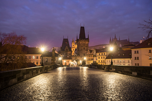 Charles Bridge「Early Morning picture of the Charles Bridge」:スマホ壁紙(15)