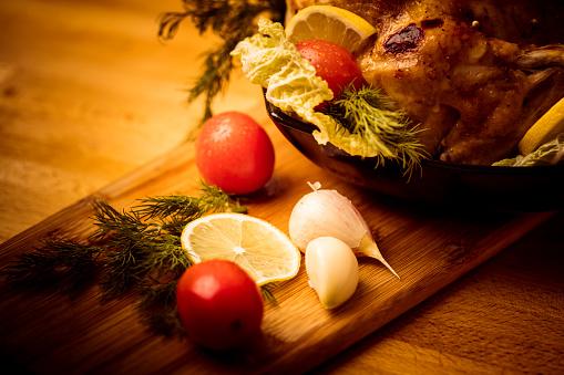 Stuffed Turkey「Turkey Dinner」:スマホ壁紙(2)