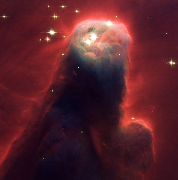 The Cone Nebula An Innocuous Pillar Of Gas And Dust Is Seen In This Picture Unveiled By:ニュース(壁紙.com)