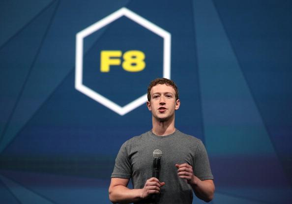 Keynote Speech「Facebook Holds f8 Developers Conference」:写真・画像(19)[壁紙.com]