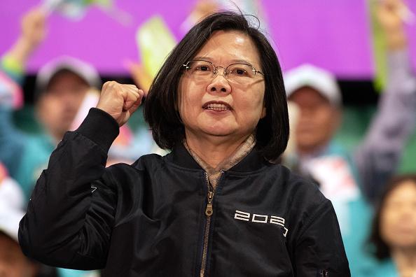 Taiwan「Tsai Ing-wen Campaigns as Taiwan Election Approaches」:写真・画像(2)[壁紙.com]