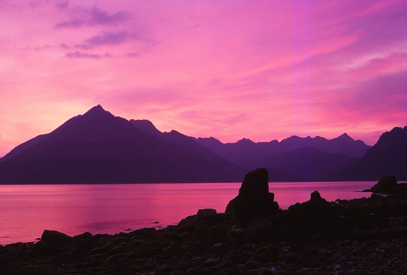 Scenics - Nature「Cuillins From Elgol At Sunset」:写真・画像(8)[壁紙.com]