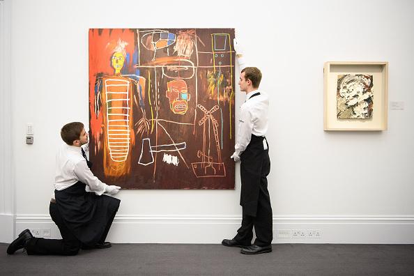 アート「Auction Preview Of The Personal Art Collection Of David Bowie」:写真・画像(3)[壁紙.com]