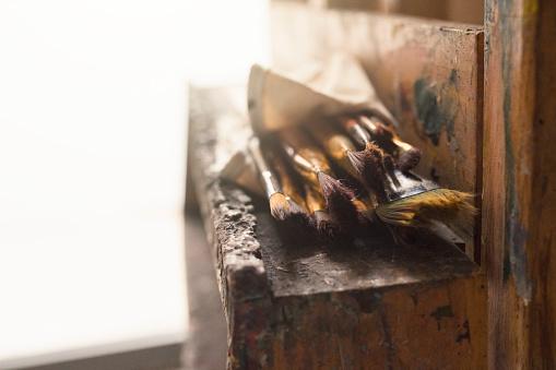 Painter - Artist「Artist's Brushes」:スマホ壁紙(8)