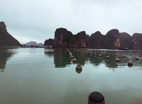 Limestone「Ha Long Bay views of limestone karsts and isles」:スマホ壁紙(15)