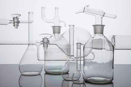 Glass - Material「Instrument of chemistry and alchemy, science, measurement, test tube」:スマホ壁紙(7)