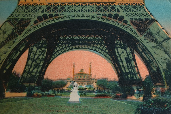 Tourism「The Trocadero Seen Under The Eiffel Tower」:写真・画像(19)[壁紙.com]