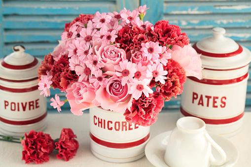 カーネーション「Rose bouquet」:スマホ壁紙(16)